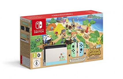 La console collector Switch aux couleurs d'Animal Crossing