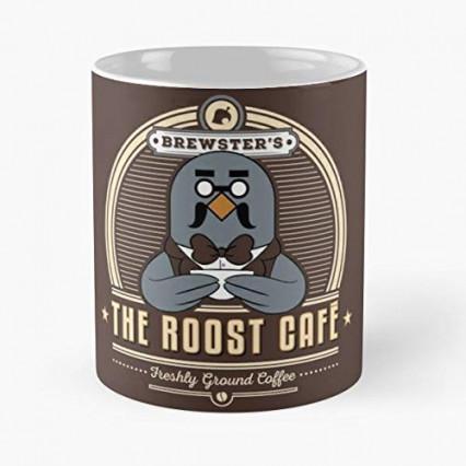 Un mug aux couleurs du Café Robusto