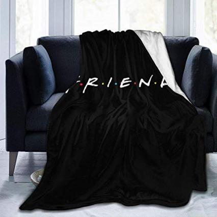 Le plaid à l'effigie de Friends