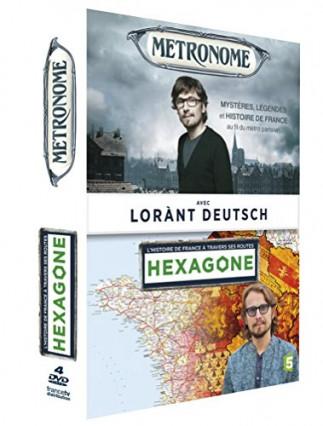 Hexagone et Metronome de Lorànt Deutsch