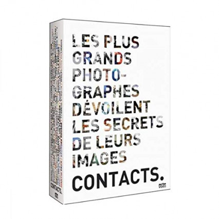 Le coffret Contacts avec la photographie contemporaine, conceptuelle et le photoreportage