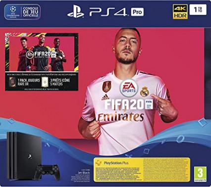 Un pack PS4 Pro avec FIFA 20