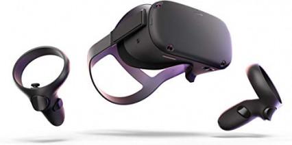 Un casque de réalité virtuelle Oculus Quest