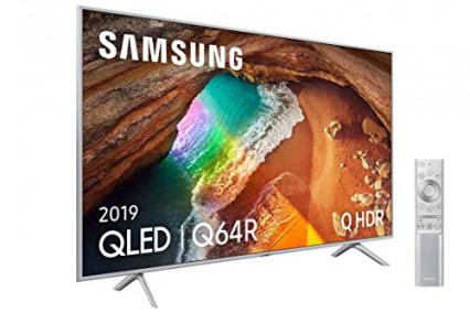 Une TV QLED 4K 138 cm Samsung 55Q64R