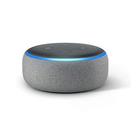 Un assistant connecté Amazon Echo Dot (3ème génération)