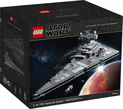Un set LEGO Star Wars géant à construire