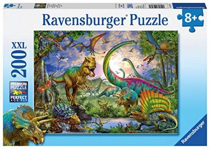 Un puzzle de 200 pièces sur les dinosaures