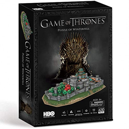 Le puzzle 3D de Winterfell de Game of Thrones