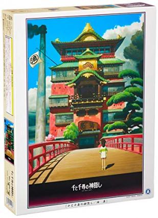 Un puzzle Le Voyage de Chihiro des Studios Ghibli