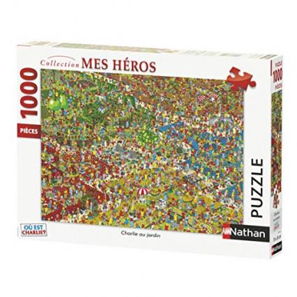 Un puzzle de 1000 pièces Où est Charlie