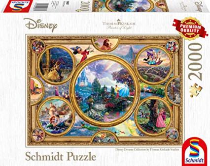 Un puzzle Disney de 2000 pièces