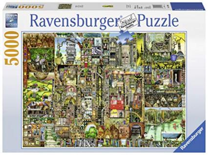 Un puzzle de 5000 pièces de chez Ravensburger