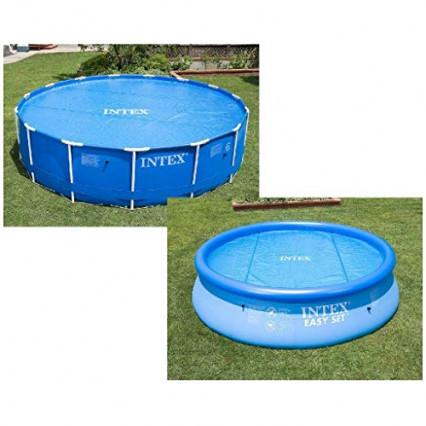 une bâche de piscine