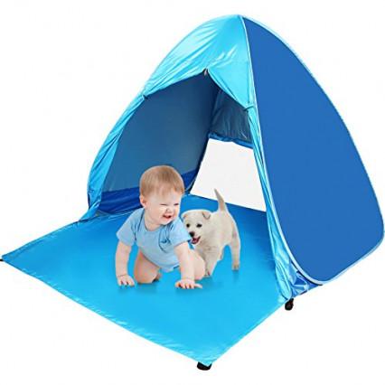 Une tente de plage pour enfants