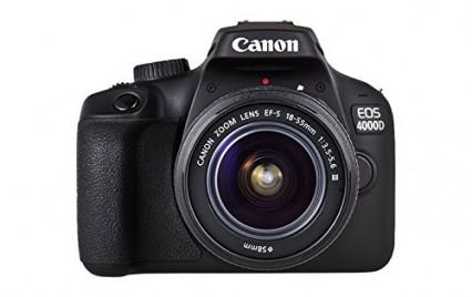 Un appareil photo, comme le Canon Reflex 4000D