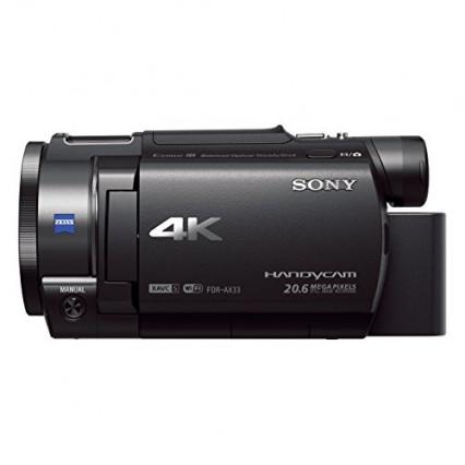 Un caméscope pour immortaliser des instants en vidéo, comme le Sony FDR-AX33