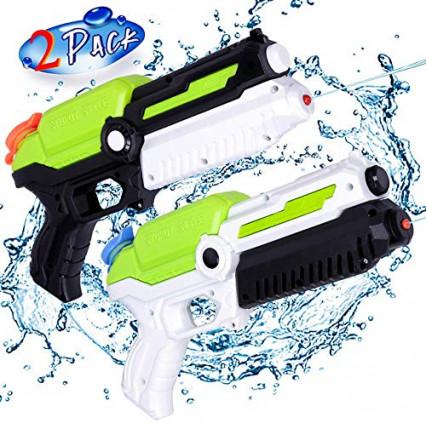 Un lot de deux pistolets à eau Mozooson