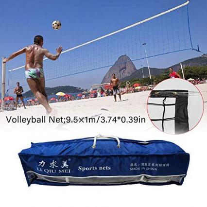 Un filet de volley pour jouer sur la plage, par cuckoo-X