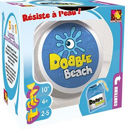 Dobble Beach, une version plage du jeu de société