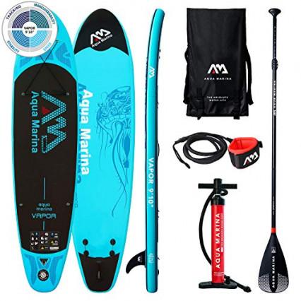 Un kit de stand up paddle gonflable Aqua-Marina