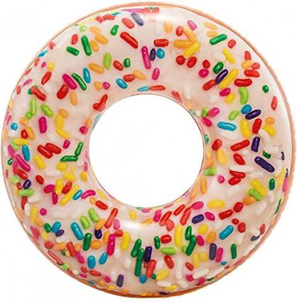 La bouée donut sucré pour flotter
