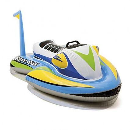 Un jet-ski gonflable pour enfant