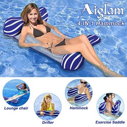 Un hamac de piscine par Aiglam