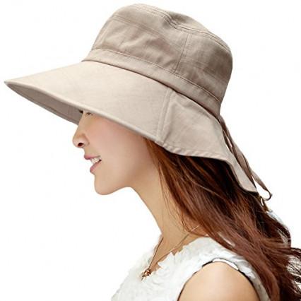 Un chapeau de soleil anti UV