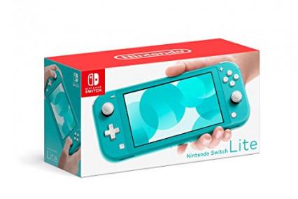 Une console de jeu, la Nintendo Switch Lite