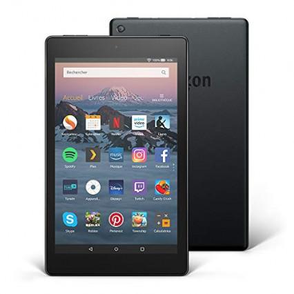 Une tablette Amazon Fire HD 8