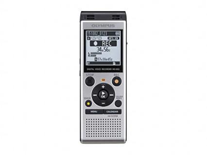Un dictaphone, comme le Olympus WS-852