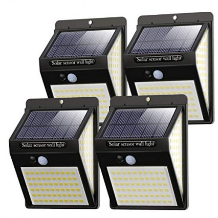 Le lot de 4 lampes à détecteur de mouvement