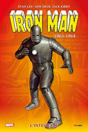 Iron Man, l'intégrale tome 1 : 1963-1964 par Stan Lee, John Heck et Jack Kirby