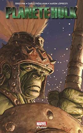 Planète Hulk, de Aaron Lopresti, Greg Pak et Carlo Pagulayan