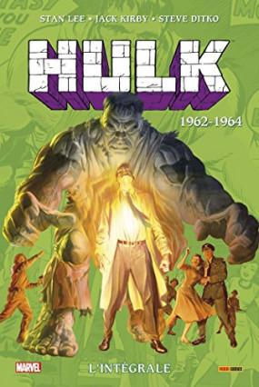 Hulk, l'intégrale tome 1 1962-1964 de Stan Lee, Steve Ditko et Jack Kirby