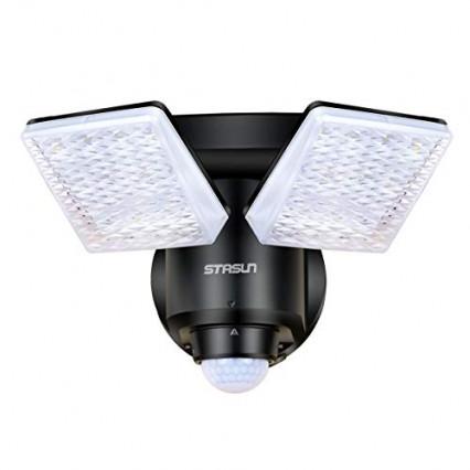 La lampe de sécurité avec détection de mouvement
