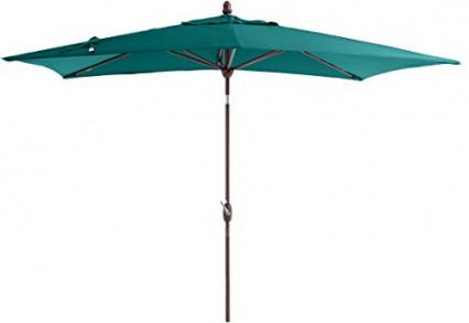 Le parasol de jardin rectangulaire