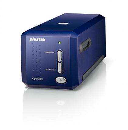Le scanner de diapositives et négatifs Plustek OpticFilms 8100