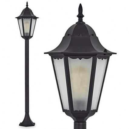 Le lampadaire de jardin