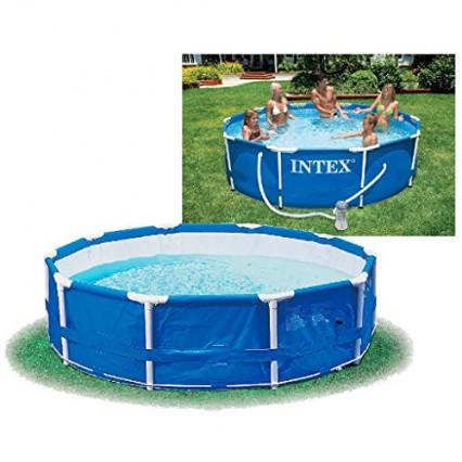 La petite piscine tubulaire avec épurateur par Intex