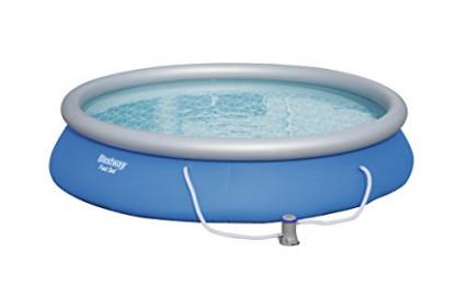 Une piscine gonflable Bestway Fast Set