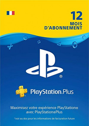 Un an d'abonnement au PlayStation Plus