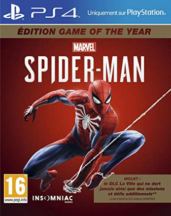 Marvel's Spider-Man édition Game of the Year