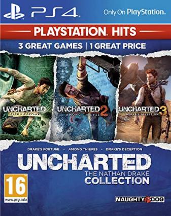 Uncharted Trilogy, trois jeux pour le prix d'un, version Hits