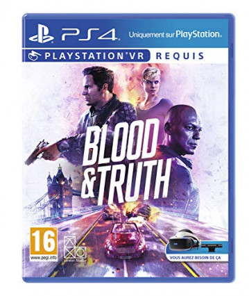 Blood and Truth, à utiliser avec le PSVR