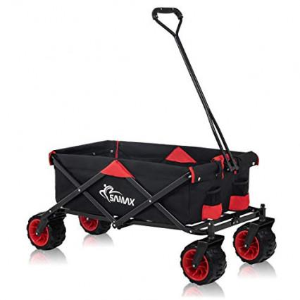 Le chariot à roues robustes