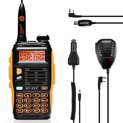 Le talkie-walkie bi-bande BaoFeng GT-3TP