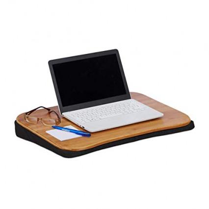 Le support de PC portable pour les jambes Relaxdays