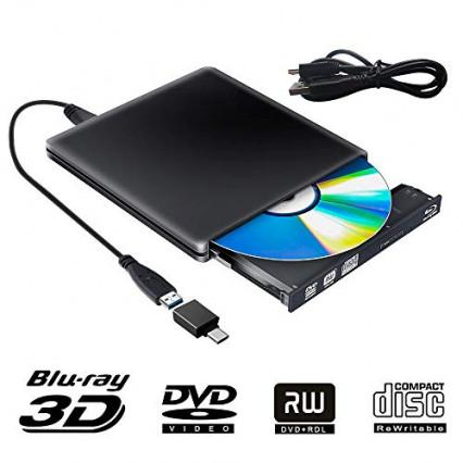 Le lecteur/graveur de CD/DVD/blu-ray PiAEK