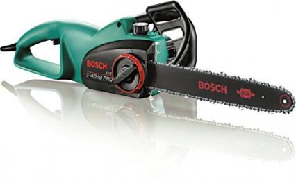 La tronçonneuse filaire par Bosch